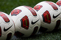 Nike ball. The USWNT defeated Mexico, 1-0, during the game at Red Bull Arena in Harrison, NJ.