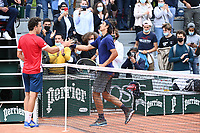 5th June 2021; Roland Garros, Paris France; French Open tennis championships day 7;   Musetti - Italy