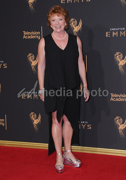 10 September  2017 - Los Angeles, California - Becky Ann Baker. 2017 Creative Arts Emmys - Arrivals held at Microsoft Theatre L.A. Live in Los Angeles. Photo Credit: Birdie Thompson/AdMedia