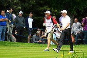 Peter LAWRIE (IRL) during round 3 of the 2015 BMW PGA Championship over the West Course at Wentworth, Virgina Water, London. 23/05/2015<br /> Picture Fran Caffrey, www.golffile.ie: