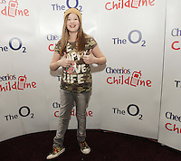 20/11/13<br /> Ashley Tubridy, who will be performing Cheerios Childline Concert at the O2 Dublin this evening….<br /> Pic Collins Photos