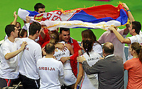 Dejan Vranes, serbian team captain Fed Cup Serbia vs Canada, World group II, first round, Novi Sad, Serbia, SPENS Sports Center, Sunday, February 06, 2011. (photo: Srdjan Stevanovic)(credit image & photo: Pedja Milosavljevic / +381 64 1260 959 / thepedja@gmail.com )