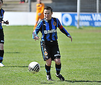 Dames Club Brugge - SV Zulte Waregem : Christine Saelens.foto DAVID CATRY / Nikonpro.be