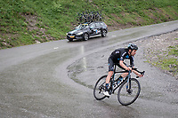descending the Col de la Colombière (1618 m)<br /> <br /> Stage 8 from Oyonnax to Le Grand-Bornand (151km)<br /> 108th Tour de France 2021 (2.UWT)<br /> <br /> ©kramon