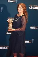 """ANAIS ROMAND, CESAR DES MEILLEURS COSTUMES POUR LE FILM """"LA DANSEUSE"""" - 42EME CEREMONIE DES CESAR LE 24 FEVRIER 2017 A LA SALLE PLEYEL"""