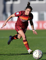 Elisa Bartoli of AS Roma in action during the Women Italy cup round of 8 second leg match between AS Roma and Florentia S.G. at stadio delle tre fontane, Roma, February 14, 2021. Photo Andrea Staccioli / Insidefoto
