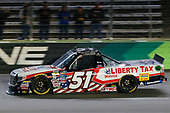 NASCAR Camping World Truck Series<br /> JAG Metals 350<br /> Texas Motor Speedway<br /> Fort Worth, TX USA<br /> Friday 3 November 2017<br /> Myatt Snider, Liberty Tax Service Toyota Tundra<br /> World Copyright: Russell LaBounty<br /> LAT Images