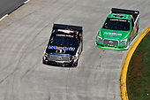 Todd Gilliland, Kyle Busch Motorsports, Toyota Tundra Mobil 1, Ben Rhodes, ThorSport Racing, Ford F-150