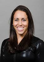 STANFORD, CA - October 3, 2011: Stanford Gymnastics athlete portrait taken on October 3rd, 2011.