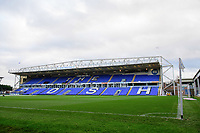 A general view of The Weston Homes Stadium, commonly known as London Road Stadium, home of Peterborough United<br /> <br /> Photographer Chris Vaughan/CameraSport<br /> <br /> The EFL Sky Bet League One - Peterborough United v Blackpool - Saturday 21st November 2020 - London Road Stadium - Peterborough<br /> <br /> World Copyright © 2020 CameraSport. All rights reserved. 43 Linden Ave. Countesthorpe. Leicester. England. LE8 5PG - Tel: +44 (0) 116 277 4147 - admin@camerasport.com - www.camerasport.com