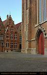 Sint-Jakobskerk and Baroque Architecture, Sint-Jakobsplein, Bruges, Brugge, Belgium