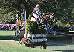 Kenki Sato and Hop & Skip of Japan compete in the cross country phase of the FEI  World Eventing Championship at the Alltech World Equestrian Games in Lexington, Kentucky.