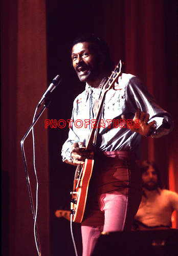 CHUCK BERRY 1975<br /> <br /> © Chris Walter<br /> <br /> Photofeatures International