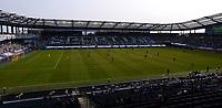 KANSAS CITY, KS - SEPTEMBER 19: FC Dallas and Sporting Kansas City pictured at the start of their match during a game between FC Dallas and Sporting Kansas City at Children's Mercy Park on September 19, 2020 in Kansas City, Kansas.