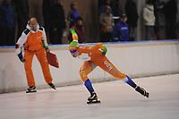 SCHAATSEN: DEVENTER: IJsbaan De Scheg, 27-10-12, IJsselcup, Antoinette de Jong, ©foto Martin de Jong