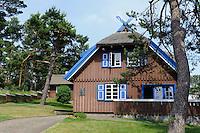 Thomas Mann-Haus in Nida auf der kurischen Nehrung, Litauen, Europa