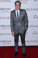 "BURBANK, CA - DECEMBER 09: John Lee Hancock arriving at the U.S. Premiere Of Disney's ""Saving Mr. Banks"" held at Walt Disney Studios on December 9, 2013 in Burbank, California. (Photo by Xavier Collin/Celebrity Monitor)"