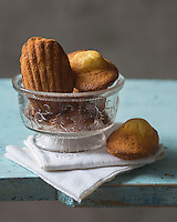 France, Calvados (14), Côte Fleurie, Cabourg: Madeleines de Proust // France, Calvados, Cote Fleurie,  Cabourg: Marcel Proust  madeleines