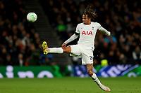 30th September 2021; Tottenham Hotspur Stadium. Tottenham, London, England; UEFA Conference League football, Tottenham v NS Mura: Dele Alli of Tottenham Hotspur controls the high ball