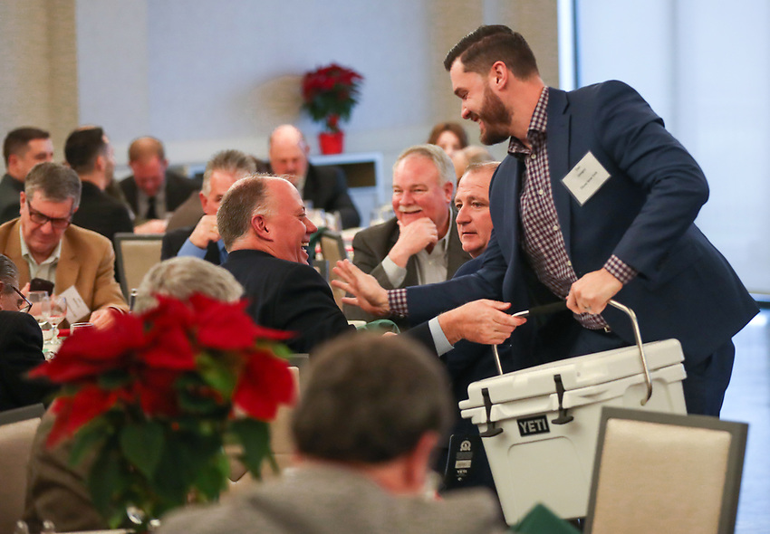 The 2019 New Jersey Asphalt Pavement Association Holiday Luncheon on Thursday, December 5, 2019 at Galloping Hill Golf Course in Kenilworth, N.J.