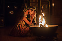 Shakespeare's Globe presents THE WINTER'S TALE, by William Shakespeare, in the Sam Wanamaker Playhouse. Picture shows: Tia Bannon (Perdita) and Steffan Donnelly (Florizel)