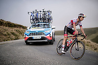 Davide Formolo (ITA/UAE-Emirates) coming down the Port de Balès (HC climb)<br /> <br /> Stage 8 from Cazères to Loudenvielle (141km)<br /> <br /> 107th Tour de France 2020 (2.UWT)<br /> (the 'postponed edition' held in september)<br /> <br /> ©kramon