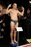 Montreal (QC) CANADA- Dec 10 2009- Official Weighting before Dec 11 Fight : Adrian Diaconu, :