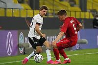 Thomas Mueller (Deutschland Germany), Joakim Maehle (Dänemark, Denmark) - Innsbruck 02.06.2021: Deutschland vs. Daenemark, Tivoli Stadion Innsbruck