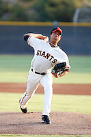 Kendry Flores - AZL Giants - 2010 Arizona League.  Photo by:  Bill Mitchell/Four Seam Images..