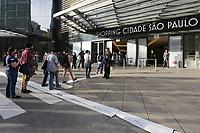 11.06.2020 - Coronavírus reabertura Shopping em SP