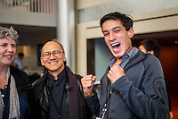 The SVP Fast Pitch Seattle competition held in McCaw Hall on Oct. 23, 2014.
