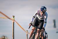Wout van Aert (BEL/Cibel-Cebon)<br /> <br /> Men Elite + U23 race<br /> Superprestige Ruddervoorde 2018 (BEL)