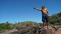 OS KAYAPÓ DE MÔYKÁRÁKÔ<br /> ©CHICO CARNEIRO O Riozinho dos Kayapó de Môykárákô.<br /> <br /> Com corredeiras e cachoeiras durante a seca
