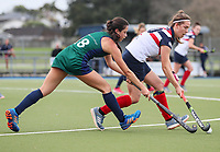 St Cuthbert's College v New Plymouth Girls High School. Federation Cup Hockey, Lloyd Elsmore Park, Auckland, New Zealand, Tuesday 3 September 2019. Photo: Simon Watts/www.bwmedia.co.nz/HockeyNZ