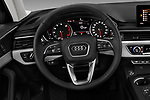 Car pictures of steering wheel view of a 2018 Audi allroad Premium 5 Door Wagon