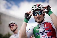 Italian champion Elia Viviani (ITA/Deceuninck-QuickStep) at the start of stage 6: Cassino to San Giovanni Rotondo (233km)<br /> <br /> 102nd Giro d'Italia 2019<br /> <br /> ©kramon