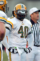 Kelvin Powell Edmonton Eskimos 2003. Photo copyright Scott Grant.