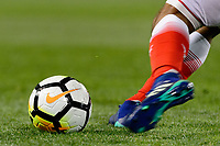 Harrison, NJ - Tuesday April 10, 2018: Nike soccer ball during leg two of a  CONCACAF Champions League semi-final match between the New York Red Bulls and C. D. Guadalajara at Red Bull Arena. C. D. Guadalajara defeated the New York Red Bulls 0-0 (1-0 on aggregate).