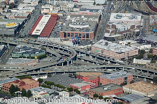 aerial photograph Showplace Square San Francisco, California