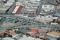 aerial photograph Showplace Square San Francisco, California