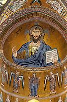 Dom in Cefalu, Sizilien, Italien, UNESCO-Weltkulturerbe Dom in Cefalu, Sizilien, Italien, UNESCO-Weltkulturerbe