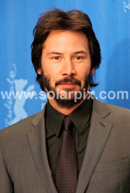 **ALL ROUND PICTURES FROM SOLARPIX.COM**.**SYNDICATION RIGHTS FOR UK AND SPAIN ONLY**.The photocall of 'The Private Lives Of Pippa Lee' at Berlinale, the 59th Berlin Film Festival. Berlin, Germany. 9 February 2009 ..This pic: Keanu Reeves..JOB REF: 8437 CPR (Heinz) DATE: 09_02_2009.**MUST CREDIT SOLARPIX.COM OR DOUBLE FEE WILL BE CHARGED**.**ONLINE USAGE FEE  GBP 50.00 PER PICTURE - NOTIFICATION OF USAGE TO PHOTO @ SOLARPIX.COM**