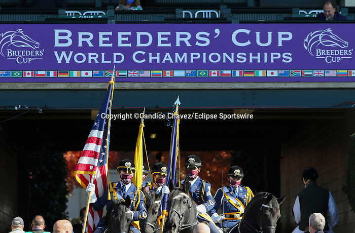 November 7, 2020 : Scenes from Breeders' Cup Championship Saturday at Keeneland Race Course in Lexington, Kentucky on November 7, 2020. Candice Chavez/Breeders' Cup/Eclipse Sportswire/CSM