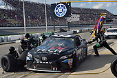 Monster Energy NASCAR Cup Series<br /> Pure Michigan 400<br /> Michigan International Speedway, Brooklyn, MI USA<br /> Sunday 13 August 2017<br /> Brett Moffitt, BK Racing, JAS Expedited Trucking Toyota Camry<br /> World Copyright: Nigel Kinrade<br /> LAT Images