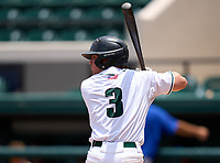 Melbourne Bulldgos Brent Ostrander (3) during the 42nd Annual FACA All-Star Baseball Classic on June 6, 2021 at Joker Marchant Stadium in Lakeland, Florida.  (Mike Janes/Four Seam Images)