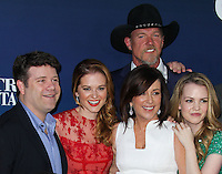"""HOLLYWOOD, LOS ANGELES, CA, USA - APRIL 29: Sean Astin, Sarah Drew, Patricia Heaton, Trace Adkins, Abbie Cobb at the Los Angeles Premiere Of TriStar Pictures' """"Mom's Night Out"""" held at the TCL Chinese Theatre IMAX on April 29, 2014 in Hollywood, Los Angeles, California, United States. (Photo by Xavier Collin/Celebrity Monitor)"""