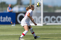 Bradenton, FL - Sunday, June 12, 2018: Julianne Vallerand prior to a U-17 Women's Championship 3rd place match between Canada and Haiti at IMG Academy. Canada defeated Haiti 2-1.
