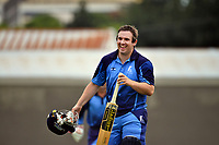 Action from the Premier T20 Cup Wellington men's twenty20 cricket match between North City and Hutt District at Linden Park in Wellington, New Zealand on Saturday, 9 January 2021. Photo: Dave Lintott / lintottphoto.co.nz