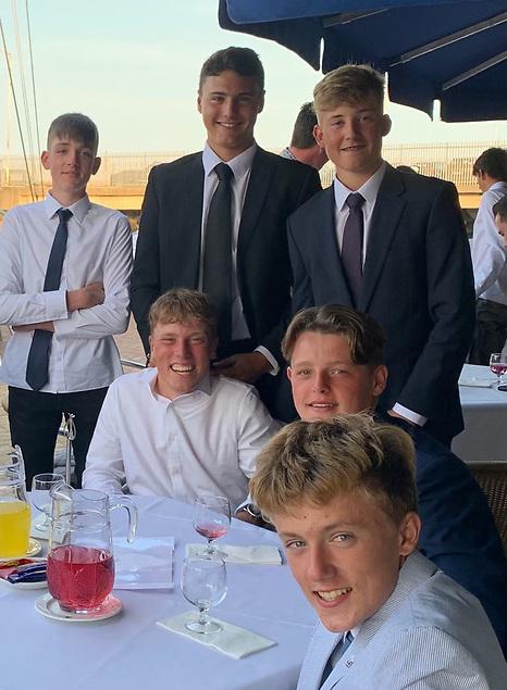 Team Bullship at the Elmo Trophy dinner