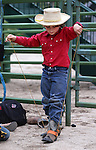 Cooper Bohnam, 8, readies for competition at the Smackdown at Fuji Park in Carson City, Nev., on Friday, June 5, 2015. <br /> Photo by Cathleen Allison